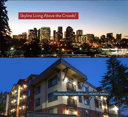 cityscape bellevue apartments luxury apartment homes downtown bellevue seattle area washington wa